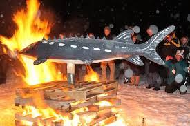 sturgeon and fire