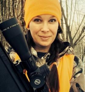 Trisha camo & gun2
