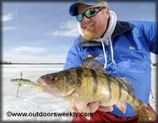 Brian Brosdahl ice fishing