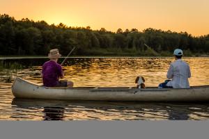 Washburn cty Rasmussen, Jay- Fishing with Dog.jpg
