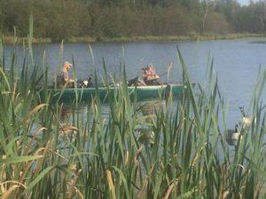 Trisha & husband duck hunting