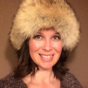 Trisha in hat